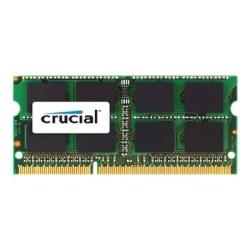 Crucial 4GB DDR3 SDRAM Memory Module - For Desktop PC - 4 GB - DDR3-1600/PC3-12800 DDR3 SDRAM - 1600 MHz - CL11 - Non-ECC - Unbuffered - 204-pin - SoDIMM