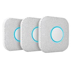 Nest Carbon Monoxide Alarm - Wireless - 1.50 V - Audible - White