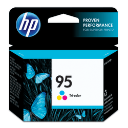 HP 95 Tricolor Ink Cartridge With Vivera Ink (C8766WN)