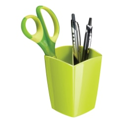 """CEP Large Gloss Pencil Cup, 3-13/16"""" x 3"""", Green"""