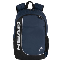 """HEAD Overhead Backpack With 15"""" Laptop Pocket, Navy"""