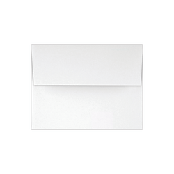 """LUX Invitation Envelopes With Peel & Press Closure, A2, 4 3/8"""" x 5 3/4"""", White, Pack Of 500"""