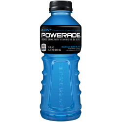 Powerade® Liquid Hydration Energy Drink, Mountain Blast (Berry), 20 Oz