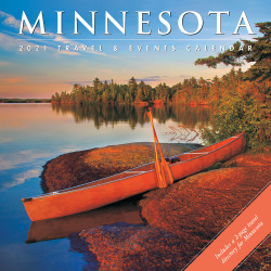 "Willow Creek Press Scenic Monthly Wall Calendar, 12"" x 12"", FSC® Certified, Minnesota, January to December 2021, 12598"