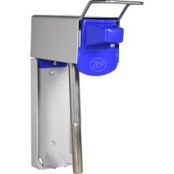 Zep D-4000 Heavy-Duty Plus Dispenser - Manual - 1 gal Capacity - Heavy Duty, Durable, Corrosion Resistant, Rust Resistant, Abrasion Resistant, Ergonomic Handle - Metallic Gray, Blue - 1Each