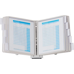 Sherpa® Desk Reference System, Gray