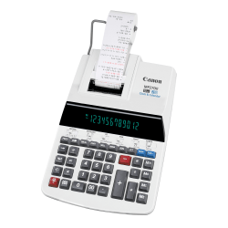 Canon MP27DII Printing Calculator, Gray