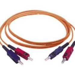C2G-6m SC-SC 50/125 OM2 Duplex Multimode PVC Fiber Optic Cable - Orange