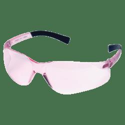 Uvex Impact Frameless Safety Eyewear, Pink Lens