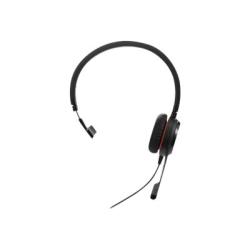 Jabra EVOLVE 30 II MS Mono Headset - Mono - Mini-phone - Wired - Over-the-head - Monaural - Supra-aural - Noise Canceling