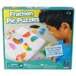 Learning Resources® Fraction Pie Puzzles