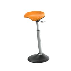 Safco® Active Mobis II Seat, Citrus Orange/Black/Gray