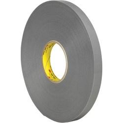 "3M™ 4957 VHB™ Tape, 1.5"" Core, 0.75"" x 5 Yd., Gray"