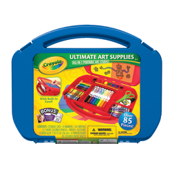Crayola® Ultimate Art Supply Kit, Assorted Colors, 85 Pieces