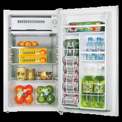 Lorell® 3.3 Cu Ft Compact Refrigerator, Light Blue/White