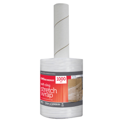 "Office Depot® Brand Stretch Wrap Film, 5"" x 1000' Roll, Clear"