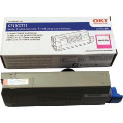 OKI - Magenta - original - toner cartridge - for C711cdtn, 711DM, 711dn, 711dtn, 711n, 711wt