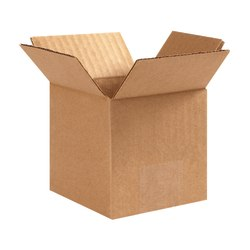 "Office Depot® Brand Corrugated Box, 6"" x 6"" x 6"", 40% Recycled, Kraft"