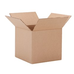 "Office Depot® Brand Corrugated Box, 9"" x 9"" x 9"", 40% Recycled, Kraft"