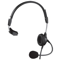Telex PH-88IC3 Headset - Wired Connectivity - Mono - Over-the-head