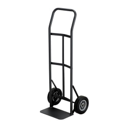 """Safco® Tuff Truck™ Economy Continuous Handle Hand Truck, 400 Lb. Capacity, 8"""" Wheels"""