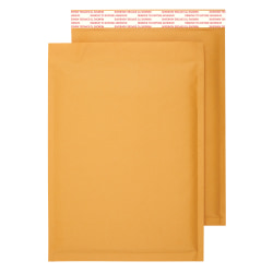 "Office Depot® Brand Self-Sealing Bubble Mailers, Size 5, 10 1/2"" x 15"", Pack Of 12"