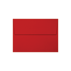 """LUX Invitation Envelopes With Moisture Closure, A6, 4 3/4"""" x 6 1/2"""", Holiday Red, Pack Of 500"""