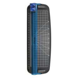 "Westcott® Multi-Purpose Personal Trimmer, 12"", Black/Blue"