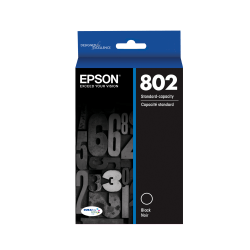Epson® DuraBrite® Ultra T802120-S Black Ink Cartridge