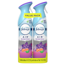 Febreze® AIR Freshener, Gain Moonlight Breeze, 8.8 Oz, Pack Of 2
