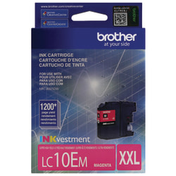 Brother® LC10EM High-Yield Magenta Ink Cartridge