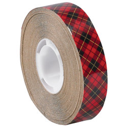 "Scotch® 926 Adhesive Transfer Tape, 1"" Core, 0.5"" x 18 Yd., Clear, Case Of 6"