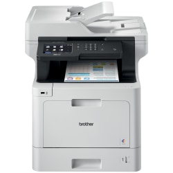 Brother® Business Wireless Color Laser All-In-One Printer, Copier, Scanner, Fax, MFC-L8900CDW