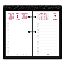 "Brownline® Daily Calendar Pad Refill, 3-1/2"" x 6"", January to December 2021, C2R"