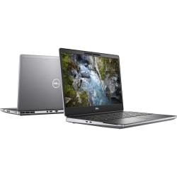 """Dell Precision 7000 7550 15.6"""" Mobile Workstation - Full HD - 1920 x 1080 - Intel Core i7 10th Gen i7-10750H Hexa-core 6 Core 2.60 GHz - 16 GB RAM - 256 GB SSD - Aluminum Titan Gray - Windows 10 Pro - NVIDIA Quadro T2000 with 4 GB"""