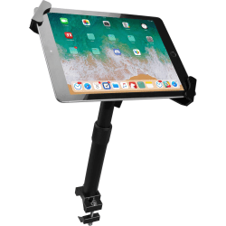 """CTA Height-Adjustable Tube-Grip Security Mount - Mounting kit (pole mount, holder) for tablet - lockable - screen size: 7""""-14"""""""