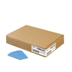 "Avery® Colored Shipping Tags - 4.75"" Length x 2.37"" Width - Rectangular - 1000 / Box - Blue"
