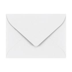 LUX Mini Envelopes, #17, Gummed Seal, Bright White, Pack Of 1,000