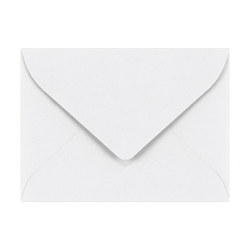 "LUX Mini Envelopes With Moisture Closure, #17, 2 11/16"" x 3 11/16"", Bright White, Pack Of 1,000"