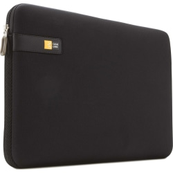 "Case Logic Carrying Case (Sleeve) for 10"" to 11.6"" Apple Chromebook, Ultrabook - Black - Impact Resistant - Foam, Woven - 9"" Height x 1.5"" Width x 12.3"" Depth"