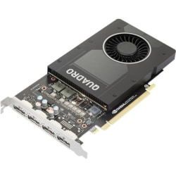 NVIDIA Quadro P2200 - Graphics card - Quadro P2200 - 5 GB GDDR5X - PCIe 3.0 x16 - 4 x DisplayPort - OEM - for ThinkStation P330 (2nd Gen) 30CY (400 Watt)