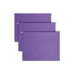 Smead® Hanging File Folders, Letter Size, Purple, Box Of 25 Folders