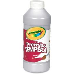 Crayola 16 oz. Premier Tempera Paint - 16 fl oz - 1 Each - Silver