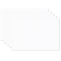 """Pacon SunWorks Heavyweight Groundwood Construction Paper, 12"""" x 18"""", Bright White, 100 Sheets Per Pack, Set Of 5 Packs"""
