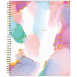 """Blue Sky™ Ashley G Weekly/Monthly Planner, 8-1/2"""" x 11"""", Smoke, July 2021 To June 2022, 133681"""