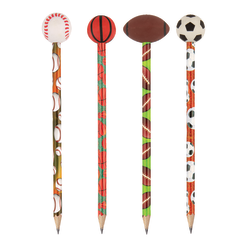 Office Depot® Brand Pencil Topper Eraser, Sports