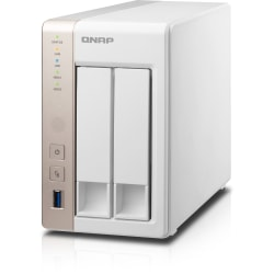 QNAP Turbo NAS Server, Intel® Celeron® (1 x 4-Core), 8GB Memory, TS-251+
