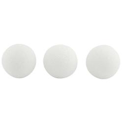 """Hygloss Styrofoam™ Balls, 3"""", White, Pack Of 24"""