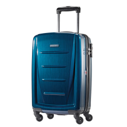 "Samsonite® Winfield 2 Polycarbonate Rolling Spinner, 20""H x 13 1/2""W x 9""H, Deep Blue"