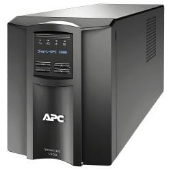 APC® Smart-UPS 8-Outlet Standalone Tower Uninterruptible Power Supply, 1,000VA/700 Watts, SMT1000C